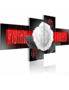 Tableau - 4 tableaux - History of the Rose - par Artgeist