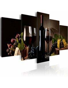 Tableau - 5 tableaux - Wine, why not? - par Artgeist