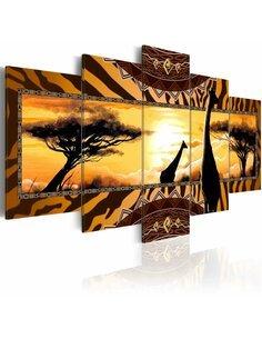 Tableau AFRICAN GIRAFFES - par Artgeist