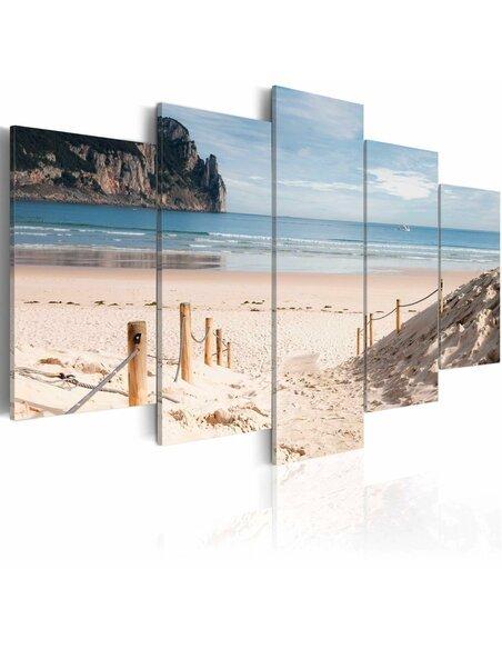 tableau 5 tableaux promenade au bord de la mer 84 90 chez r. Black Bedroom Furniture Sets. Home Design Ideas