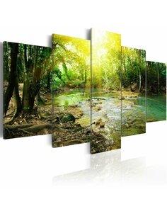 Tableau FOREST RIVER - par Artgeist