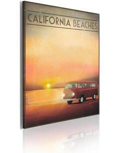 Tableau CALIFORNIA BEACHES - par Artgeist