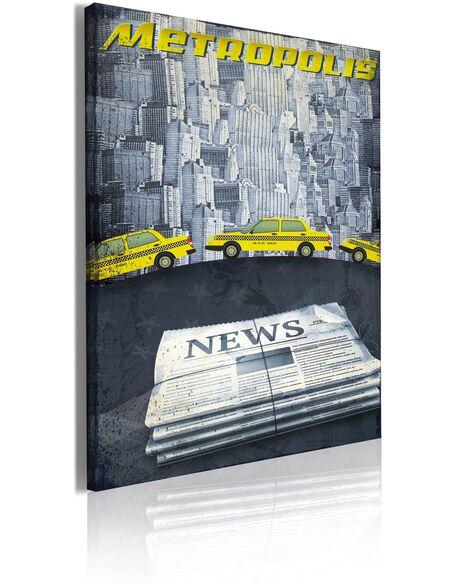 Tableau YELLOW CABS - Art urbain par Artgeist