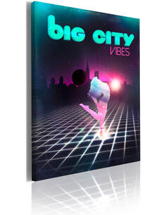 Tableau BIG CITY VIBES - par Artgeist