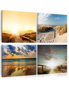 Tableau ON THE BEACH OF DREAMS - par Artgeist