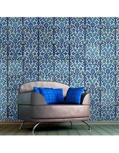 Papier peint ROYAL BLUE DANCE - par Artgeist