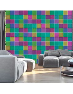 Papier peint RAINBOW JIGSAW - par Artgeist