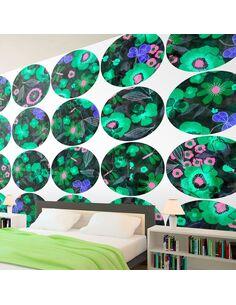 Papier peint GREEN MEADOW CIRCLE - par Artgeist