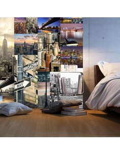 Papier peint STREETS OF NEW YORK - par Artgeist