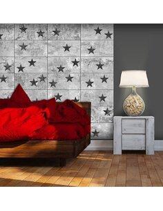 Papier peint BLACK STARS - par Artgeist