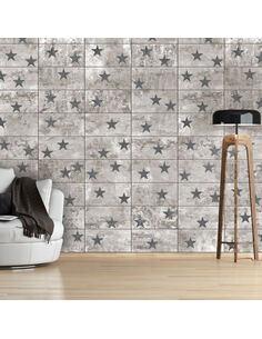Papier Peint Concrete Stars  Papiers peints Deko Panels Artgeist