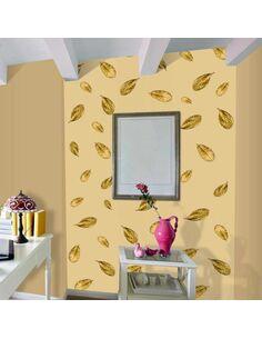 Papier peint GOLDEN LEAF - par Artgeist