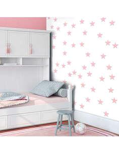 Papier peint PINK STARS - par Artgeist