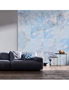 Papier peint BLUE MARBLE - par Artgeist