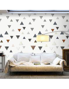 Papier Peint Triangular Harmony  Papiers peints Deko Panels Artgeist