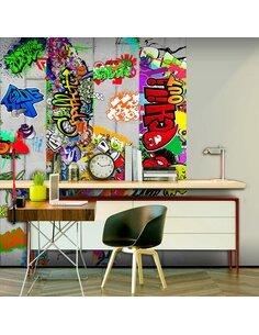 Papier peint COLOURFUL MADNESS - par Artgeist