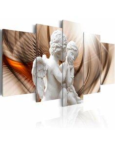 Tableau - 5 tableaux - Angelic Duet Personnages Artgeist