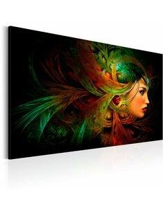 Tableau Reine De La Forêt  Multicolores Artgeist