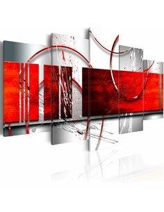 Tableau EMPHASIS: RED THEME - par Artgeist