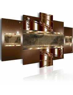 Tableau BROWN MIRAGE - Modernes par Artgeist
