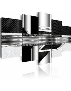 Tableau - 5 tableaux - Silver Cut Modernes Artgeist