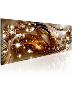 Tableau Panoramique - Ruban brun éclatant Modernes Artgeist
