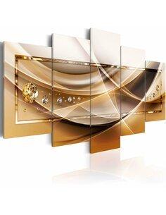Tableau GOLDEN FRAME - par Artgeist