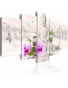Tableau WHITE BUDDHA - par Artgeist