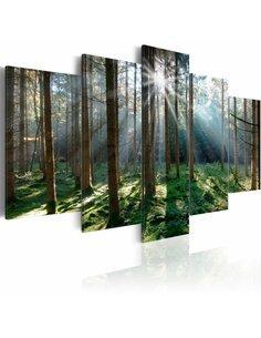 Tableau FAIRYTALE FOREST - par Artgeist