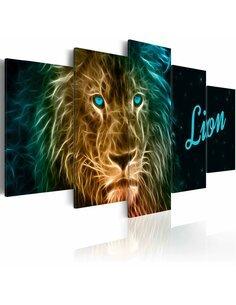 Tableau GOLD LION - par Artgeist