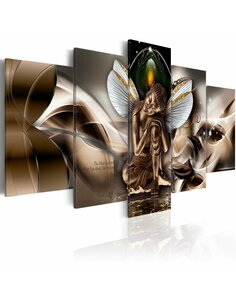 Tableau - 5 tableaux - Winged Buddha Zen Artgeist