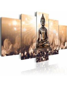 Tableau - 5 tableaux - Contemplation inspirante Zen Artgeist