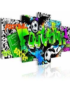 Tableau - 5 tableaux - Sports Games Art urbain Artgeist