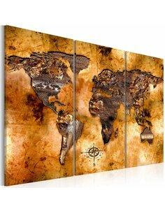 Tableau WORLD IN OPALESCENT SHADES - par Artgeist