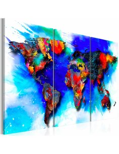Tableau RAINBOW MAP - par Artgeist