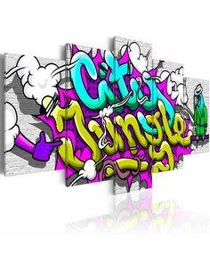 Tableau CITY JUNGLE - par Artgeist