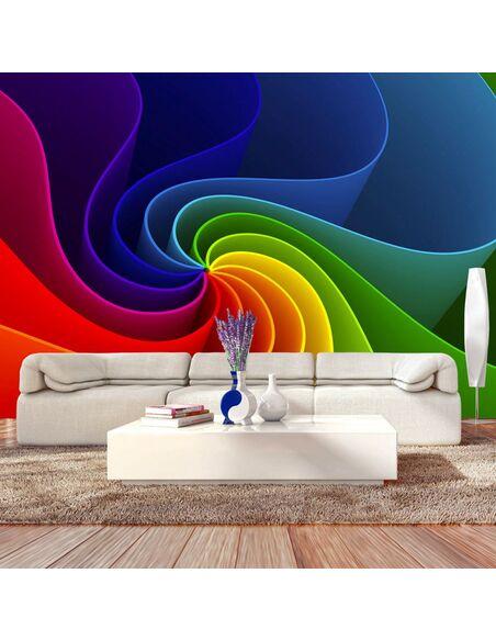 Papier Peint Colorful Pinwheel  Moderne Artgeist