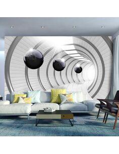 Papier peint FUTURISTIC TUNNEL - par Artgeist