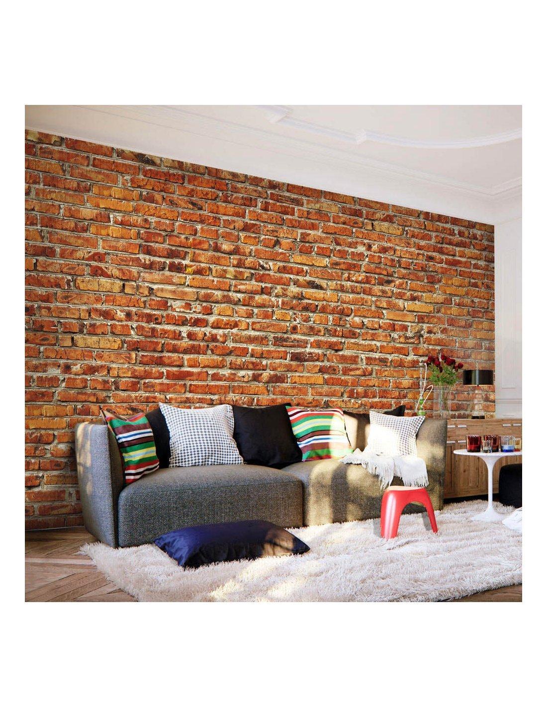 Papier Peint Brick Wall A 99 90 Chez Recollection