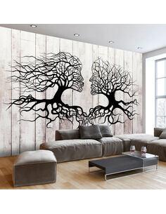 Papier peint A KISS OF A TREES - par Artgeist