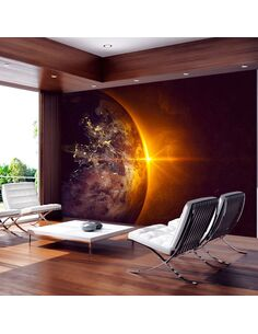 Papier peint GOLDEN EARTH - par Artgeist