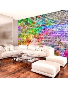 Papier peint RAINBOW WALL - par Artgeist