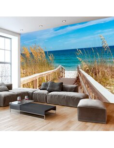 Papier peint SUMMER AT THE SEASIDE - par Artgeist