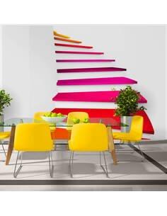 Papier peint COLORFUL STAIRS - par Artgeist