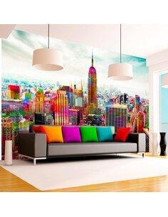 Papier peint COLORS OF NEW YORK CITY - par Artgeist