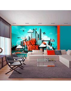 Papier peint WELCOME NEW YORK - par Artgeist