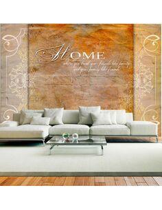 Papier peint HOME, WHERE YOU TREAT YOUR FRIENDS LIKE FAMILY... - par Artgeist