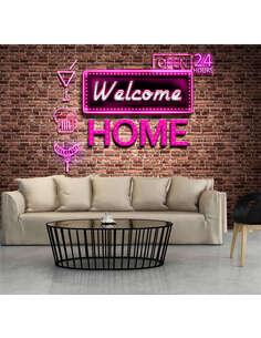 Papier peint WELCOME HOME - par Artgeist