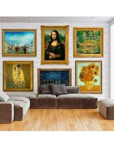Papier peint WALL OF TREASURES - par Artgeist