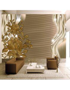 Papier peint GOLDEN BUDS - par Artgeist